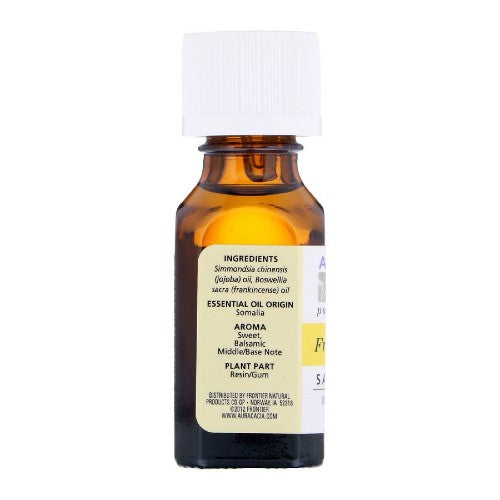 Aura Cacia, Pure Essential Oils, Frankincense, Sanctifying, 0.5 fl oz (15 ml)