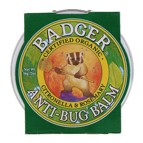 Badger Company, Anti-Bug Balm, Citronella & Rosemary, 2 oz (56g)