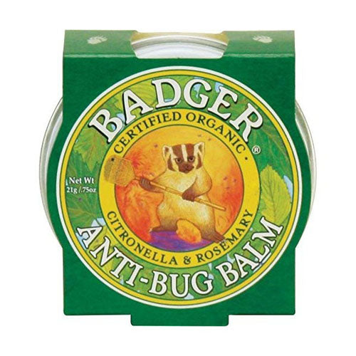 Badger Company, Anti-Bug Balm, Citronella & Rosemary, .75 oz (21g)