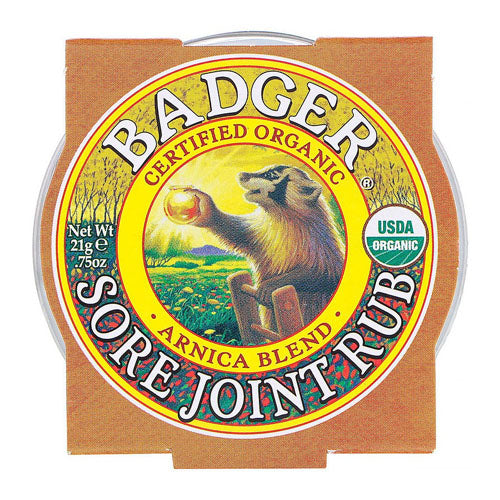 Badger Company, Organic, Sore Joint Rub, Arnica Blend, .75 oz (21g)
