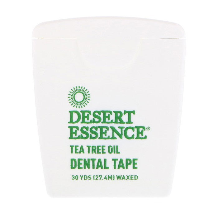 Desert Essence, Tea Tree Oil Dental Tape, Waxed, 30 Yds (27.4m)