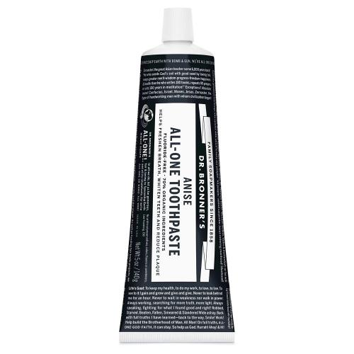 Dr. Bronner's All-One Toothpaste Anise – 5 oz