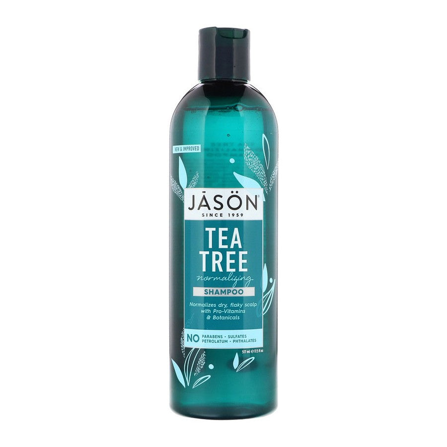 Jason Natural, Normalizing Tea Tree Shampoo, 17.5 floz (517ml)