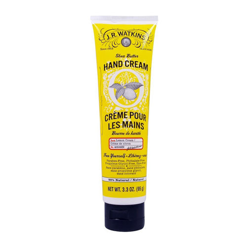 J.R. Watkins, Shea Butter Hand Lemon Cream, 3.3 oz (95g)