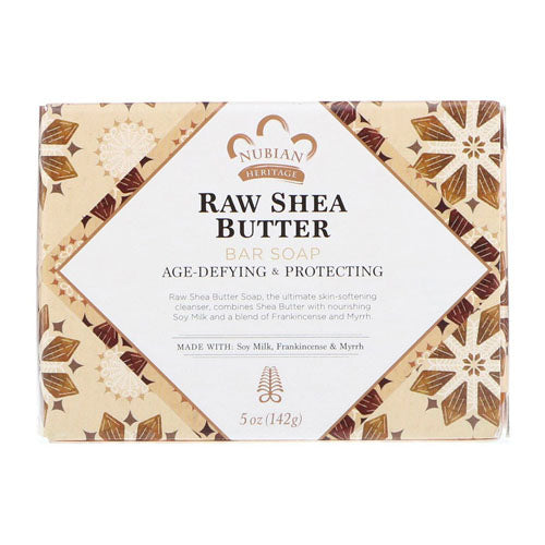 Nubian Heritage, Raw Shea Butter Bar Soap, 5 oz (142g)