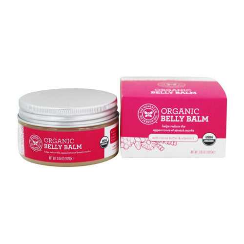 The Honest Co., Organic Belly Balm, 3.65 Oz (102g)
