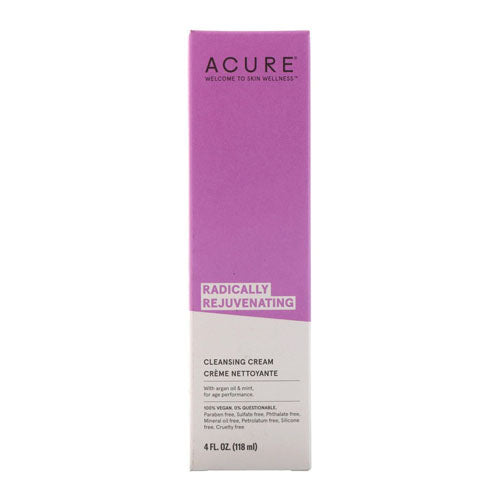 Acure, Acure, Radically Rejuvenating, Cleansing Cream, 4 floz (118ml)