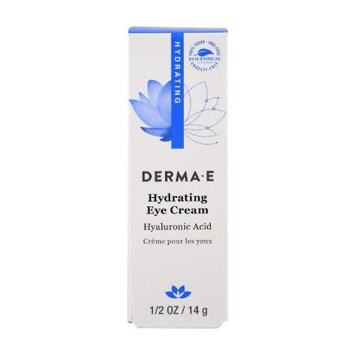 Derma E, Hydrating Eye Cream, Hyaluronic Acid & Green Tea, 0.5oz(14g)