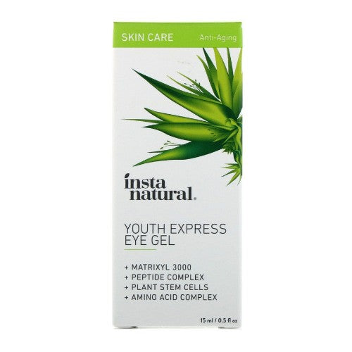 InstaNatural, Youth Express Eye Gel, Anti-Aging, 0.5 floz (15ml)