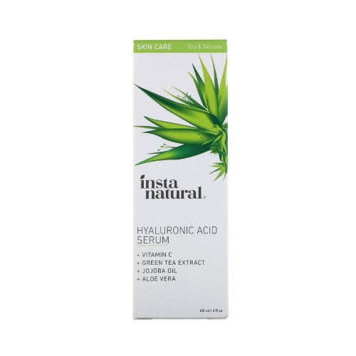 InstaNatural, Hyaluronic Acid Serum with Vitamin C, 2 floz (60ml)
