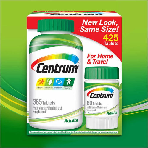 Centrum Multivitamin Multimineral Supplement for Adults, Value pack