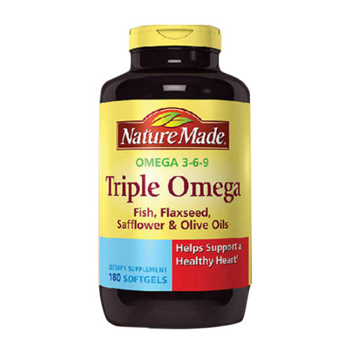 Nature Made, Triple Omega, 180 Softgels