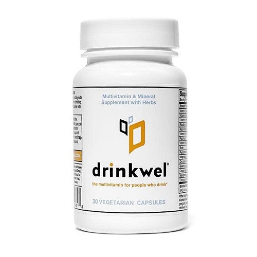 Drinkwel, for Hangovers, Nutrient Replenishment & Liver Support, 30 Vegetarian Capsules