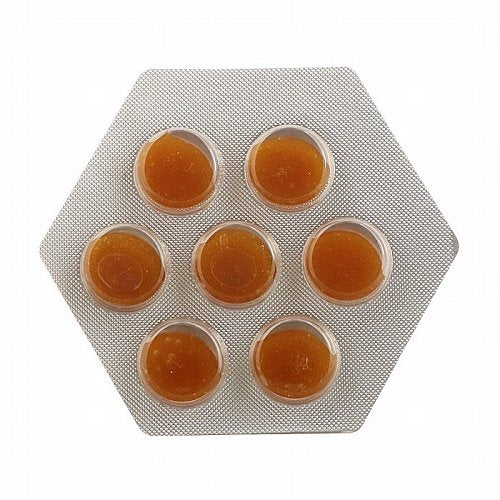 Zarbees, 99% Honey Cough Soothers, Natural Lemon Flavor, 14 Pieces