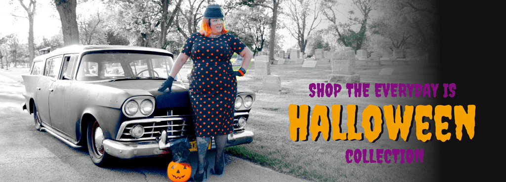 Chevygrrl Our Halloween Pinup!
