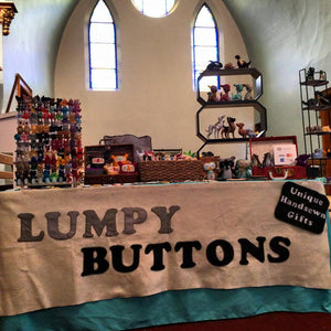 Lumpy Buttons Felt Work Showcase