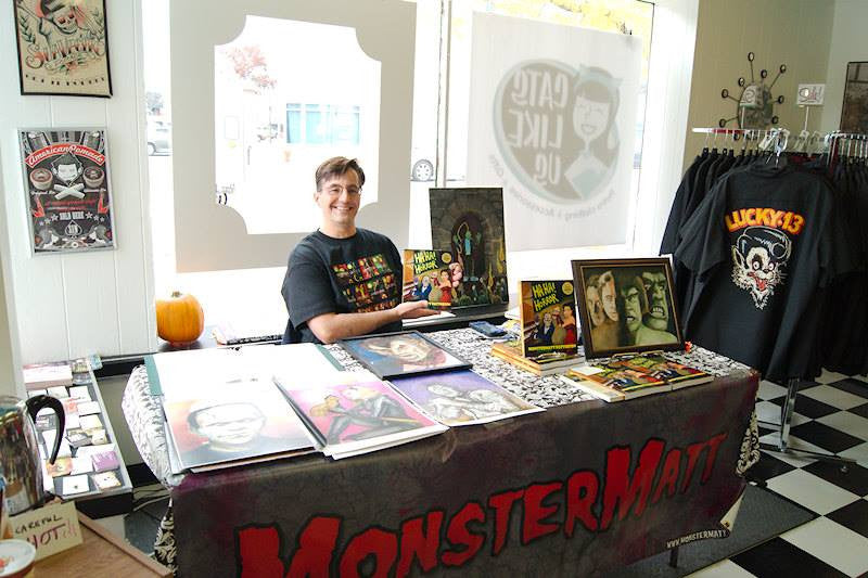 In-store with Monster Matt Patterson