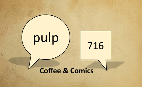 7d557396fd New Kids on the Retro Block: Welcome Pulp 716 Coffee and Comics ...