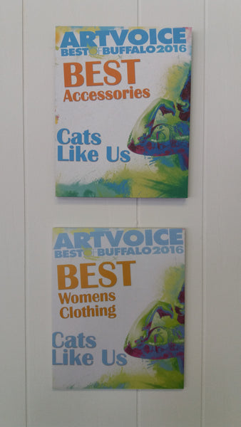 CLU wins Artvoice Best of Buffalo Best Womens Clothing Best Accessories
