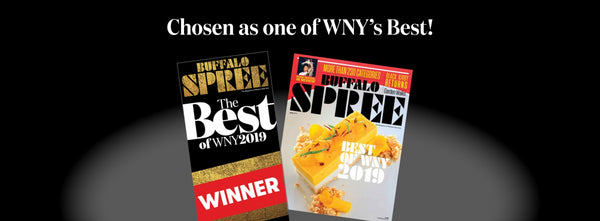 We've been chosen as one of WNY's Best!