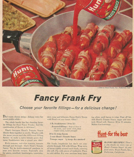 Fnacy Frank Fry retro recipe
