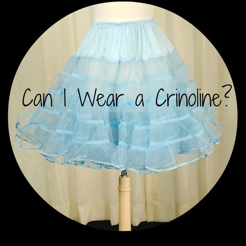 How To Wear A Crinoline