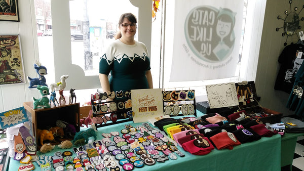 Local Maker Ester of Lumpy Buttons