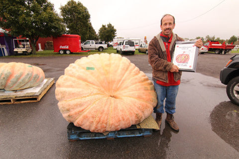 The Great Pumpkin Farm largest pumpkin winner