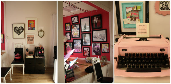 More Interior shots of Sweetheart Pin Up Studio located in Tonawanda, NY