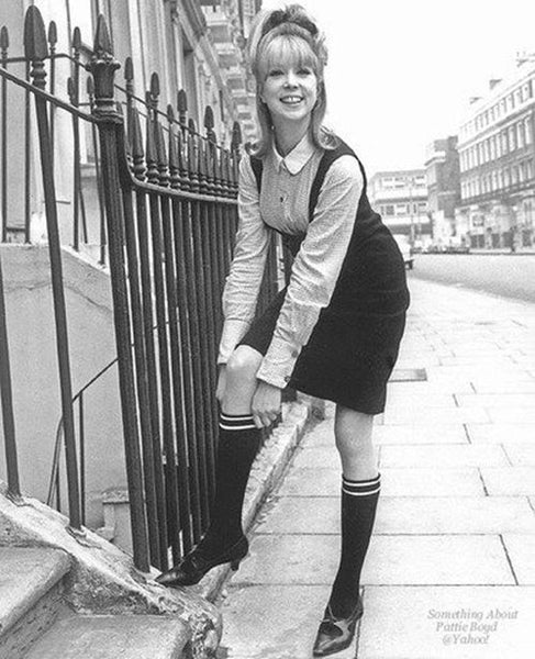 Patty Boyd in a Hard Days Night movie School Girl Look