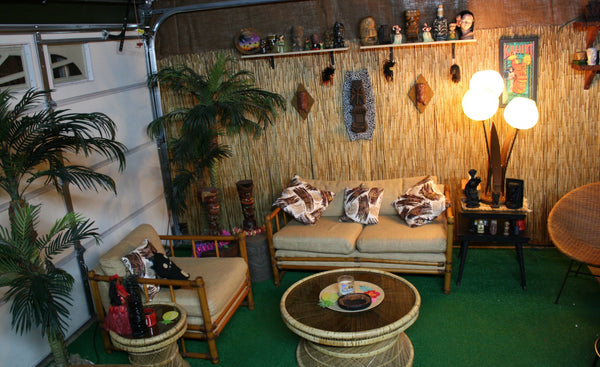 CLU Home Tiki Bar Series: The Hut