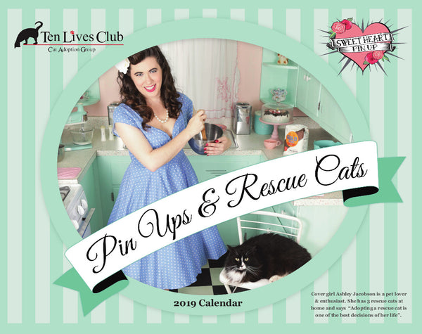 Pin Ups & Rescue Cats