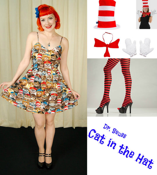 Cat in the Hat Dr. Seuss costume idea