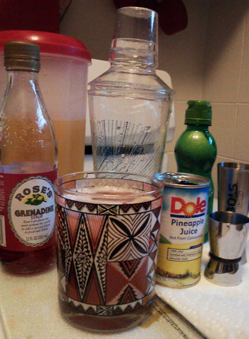 Plantar's Punch Tiki Recipe Ingredients