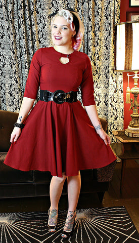 Retro holiday dress by Steady Clothing