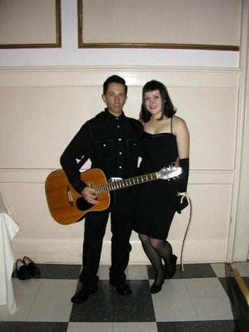 Johnny Cash and Bettie Page Halloween Costumes