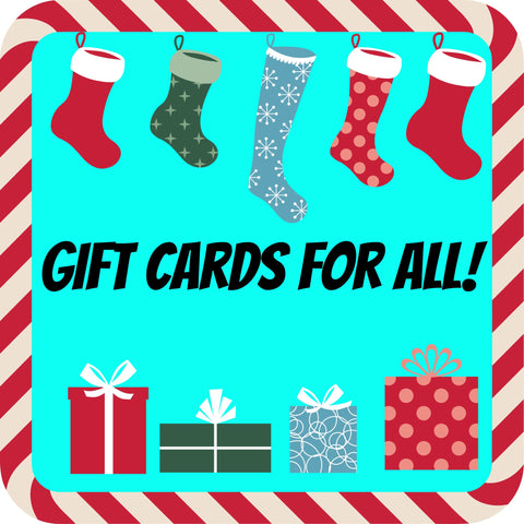 Gift Cards from Cats Like Us make great gifts!