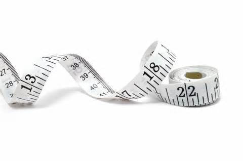 Your measurements do not define you, it's just a useful tool to know when fitting yourself for clothing