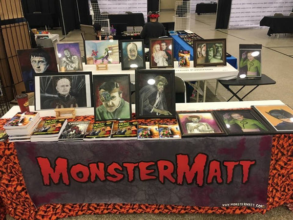 Monster Matt Patterson in store event 2016