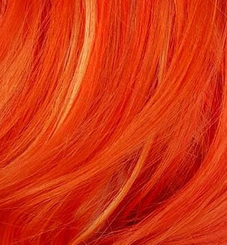 multidimensional orange hair color