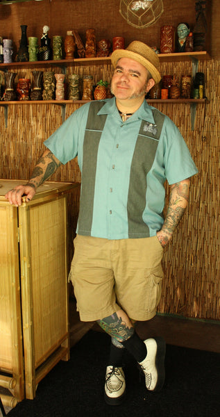 Volcano Bowl Tiki Shirt by Steady Clothing