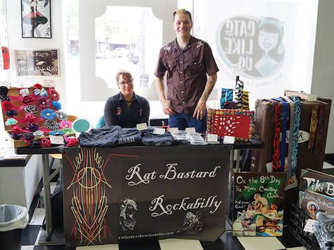 Rat Bastard Rockabilly trunk show