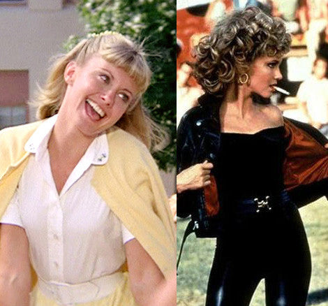 Retro movie fashion, Grease. 1950s retro fashion. Sandra D, Sandy