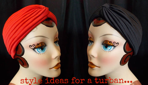retro turban style ideas