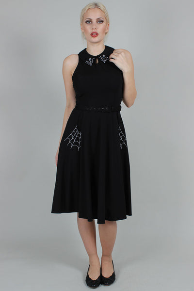 Charlie Spiderweb Swing Dress