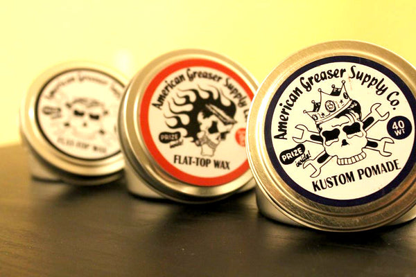 AGS Super Flat Top Wax by American Greaser Supply