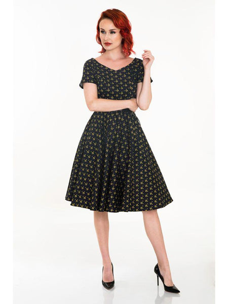 Bella Bee Swing Dress - Cats Like Us