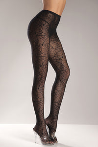 Spiderweb  Pantyhose by Be Wicked : Cats Like Us