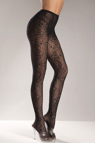Spiderweb  Pantyhose by Be Wicked