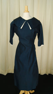 1950s Sexy Sailor Wiggle Dress